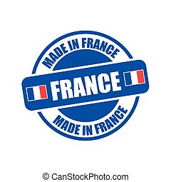 made in france stamp