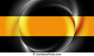 Bright iridescent ring abstract video animation - Bright...