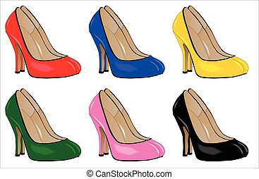 Stiletto Heels - A collection of stiletto heel shoes...