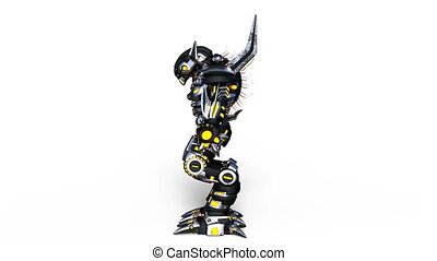 mechanical monster - Image of a mechanical monster.