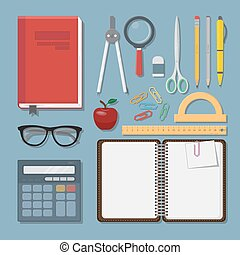 Education items set