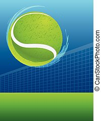 abstract sport background tennis. vector