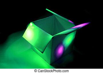 colourbox - color box in the dark - color box in the dark in...