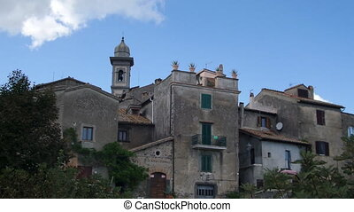 Ancient Buildings Bracciano Italy - Ancient buildings in...