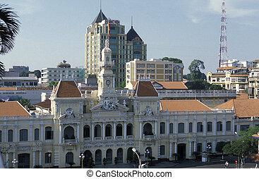 ASIA VIETNAM HO CHI MINH CITY PARLIAMENT - Hotel de Ville or...