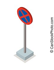No Stopping - Traffic Sign - No stopping - traffic sign....