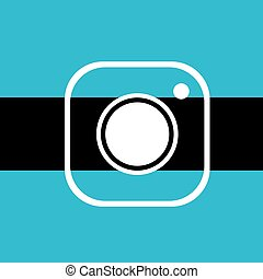 nice cam icon - Creative design of nice cam icon