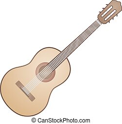 spanish guitar - Creative design of spanish guitar