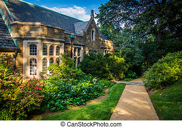 The Sayre House at Washington National Cathedral in...