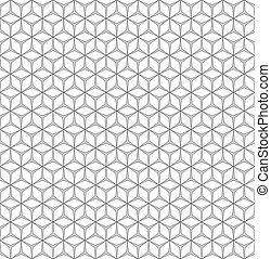 rhombus seamless pattern - Seamless geometric pattern....