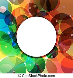 Background Circle Rainbow Jungle