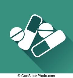 pharmaceuticals icon design