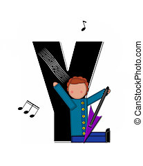 Alphabet Children Music Y