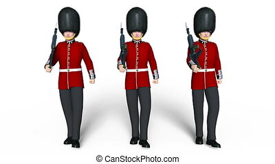 guards division men - Image of guards division men.
