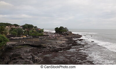 Tanah Lot Temple on Bali - Bali, Indonesia