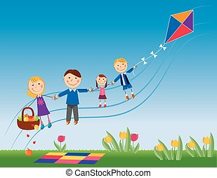 family love - It is a vector illustration in EPS file