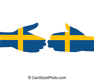 Swedish handshake