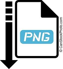 download png symbol - Creative design of download png symbol