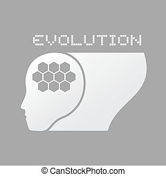 evolution symbol - Creative design of evolution symbol