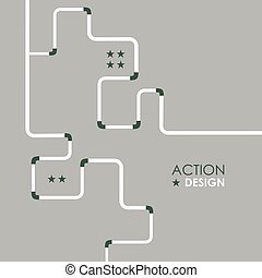 Pipe fitting vector set. Pipeline vector illustration. Gas...