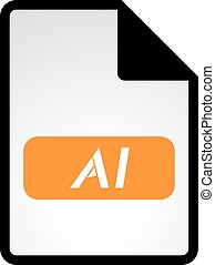 ai symbol - Creative design of ai symbol