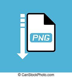 download file png symbol - Creative design of download file...