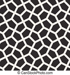 Vector Seamless Tessellation Geometric Pattern - Vector...