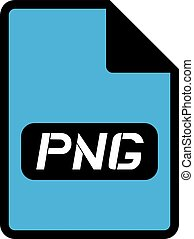 png file symbol - Creative design of png file symbol