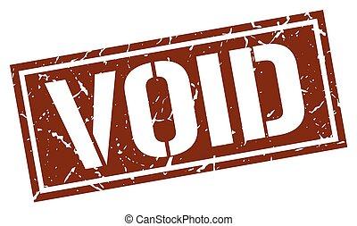 void square grunge stamp
