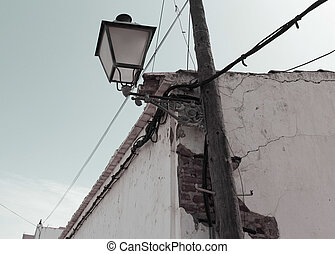 old streetlight - Creative design of old streetlight