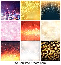 Abstract background blur vector - Universal different vector...