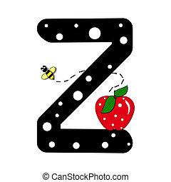 Alphabet Buzzer Z