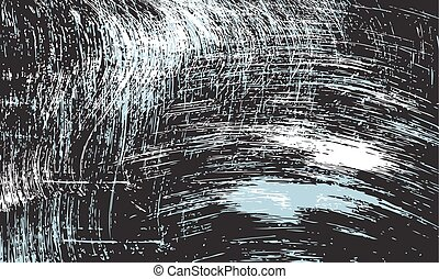 Vector abstract scratched background