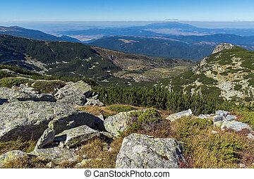 The Pig Lake, Rila Mountain - Panoramic view around The Pig...