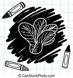 Cabbage doodle