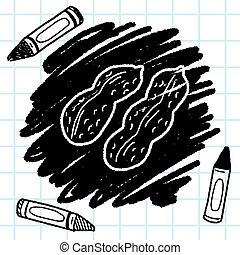 Peanut doodle