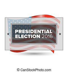 USA presidential election poster - 2016 USA presidential...