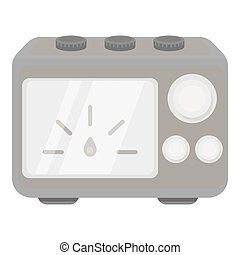 Power Supply tattoo icon monochrome. Single tattoo icon from...