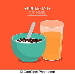 Cereal and breakfast design
