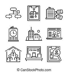 company icon set