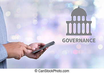 GOVERNANCE and Government building, Authority Government...