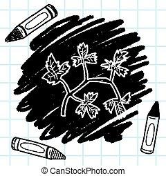 Parsley doodle