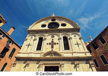 Church Santa Maria dei Miracoli, Venice, Italy