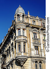 Fragment of ancient residential building in Odessa