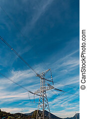Power Lines - High Voltage Power Lines
