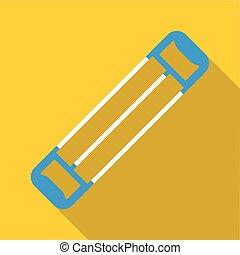 Expander icon, flat style - Expander icon. Flat illustration...