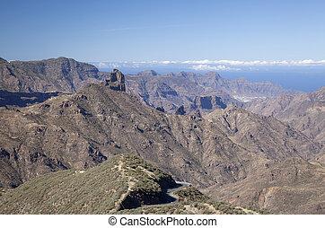 Gran Canaria, Caldera de Tejeda in October