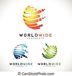 Sphere Business Logo Vector