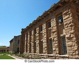 Old Idaho State Penitentiary in Boise Idaho USA