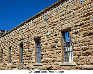 Old Idaho State Penitentiary in Boise Idaho USA